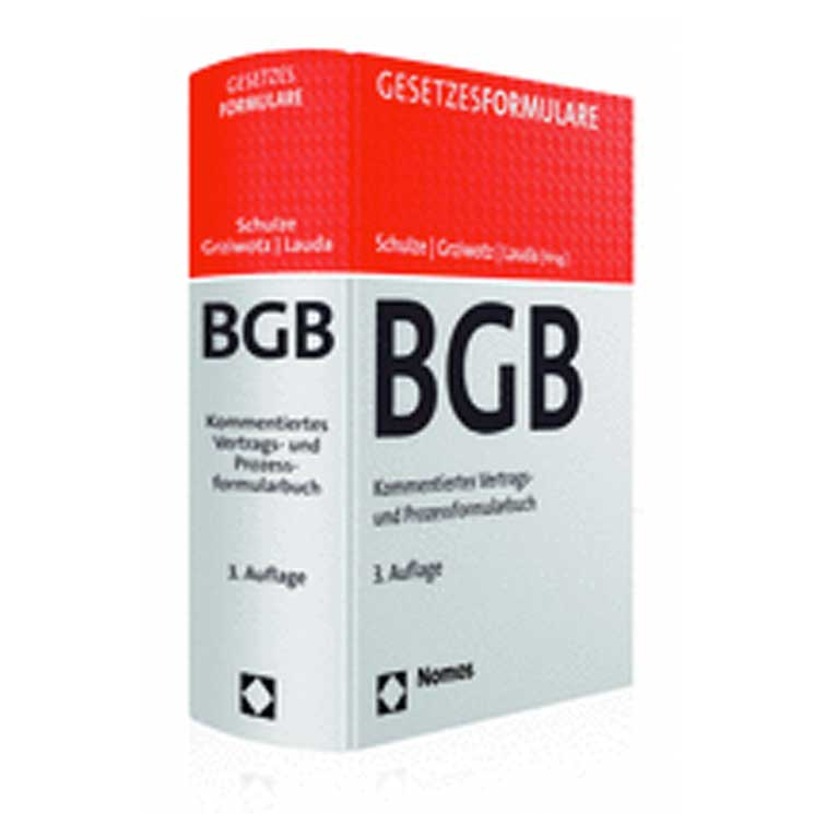 Gesetzesformulare BGB