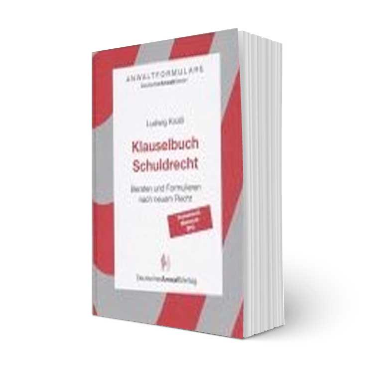 Klauselbuch Schuldrecht