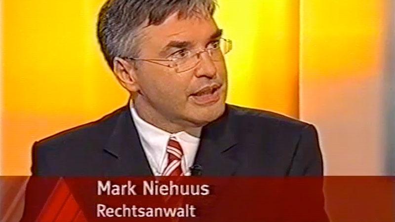 Zuschauerfragen - Dr Mark Niehuus in den Medien